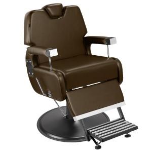 Cadeira de Barbeiro Sevilha Marri pé taça preto