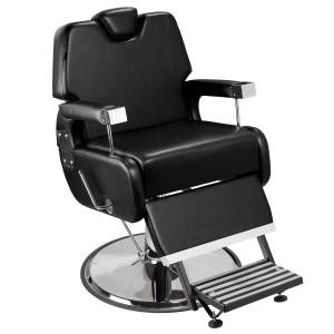 Cadeira de Barbeiro Sevilha Base Taça Cromado Marri