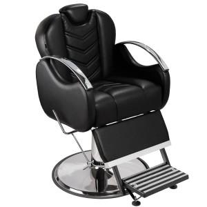 Cadeira de Barbeiro Alfa Base Taça Cromado Marri