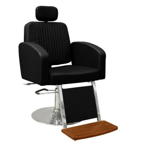 Cadeira para Barbeiro Reclinável Montana Kixiki