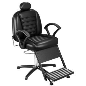 Cadeira de Barbeiro Reclinável Madri Base Penta Pé Marri