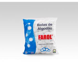 Bolas de Algodão Farol-100g
