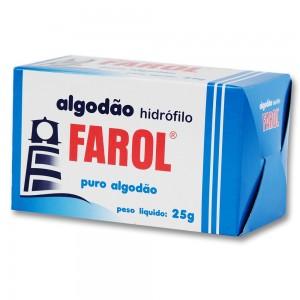 Algodão Hidrófilo Farol-25g