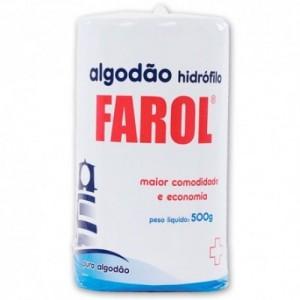 Algodão Hidrófilo Farol-500g