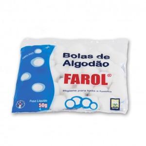 Bolas de Algodão Farol-50g