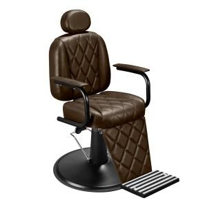 Cadeira de Barbeiro Califórnia Marri Pé prato preto