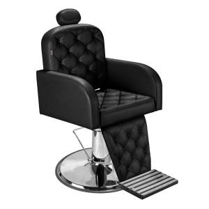 Cadeira de Cabeleireiro/Barbeiro Dubai Pé Cromado