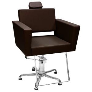 Cadeira Hidráulica Fixa Niágara Kixiki-Café