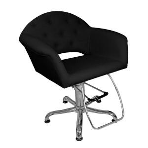 Cadeira Hidráulica Encosto Fixo Velvet Kixiki