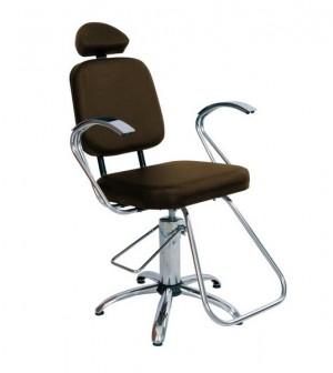 Cadeira Hidráulica Reclinável Pop Status-Café