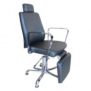 Cadeira de Cabeleireiro Croma com Descanso Para Pés