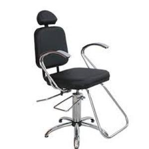Cadeira Hidráulica Reclinável Pop Status-Preto
