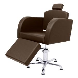 Cadeira Capri Encosto Reclinável com Descanso de Pernas Kixiki
