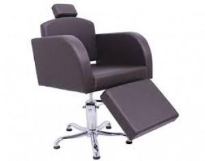 Cadeira de Cabeleireiro Capri com Descanso Para Pés