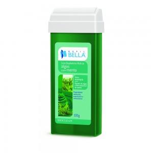 Cera Depilatória Roll-On Algas com Menta Depil Bella-100g