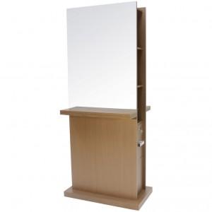 Console Frente de Espelho Milão Slim Duplo Kixiki