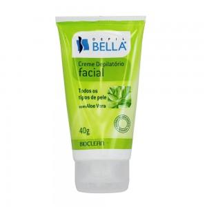 Creme Depilatório Facial com Aloe Vera Depil Bella-40g