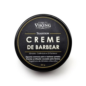 Creme de barbear Tradition 90g - Viking