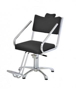 Cadeira Hidráulica Fixa Cromus Terra Santa-Preto