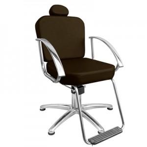 Cadeira Hidráulica Fixa Dallas Marri-Café