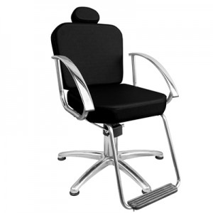 Cadeira Hidráulica Fixa Dallas Marri-Preto