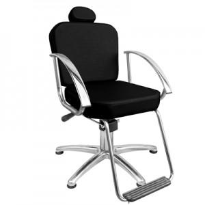 Cadeira Hidráulica Reclinável Dallas Marri-Preto