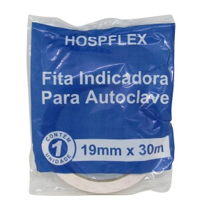 Fita Indicadora para Autoclave 19mmx30m - Hospflex
