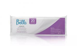 Lenço para Depilação Gran Style de Falso Tecido Depil Bella com 20 folhas