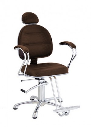 Cadeira Hidráulica Reclinável Glória Terra Santa-Café