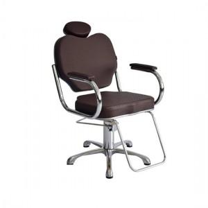 Cadeira Hidráulica Fixa Gobbi Terra Santa-Café