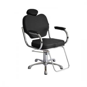 Cadeira Hidráulica Fixa Gobbi Terra Santa-Preto