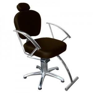 Cadeira Hidráulica Reclinável Jasmim Marri-Café