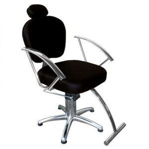 Cadeira Hidráulica Reclinável Jasmim Marri-Preto