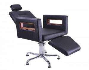 Cadeira Lisboa Encosto Reclinável com Descanso de Pernas Kixiki