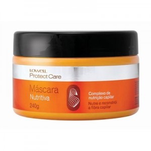 Máscara Nutritiva Lowell Protect Care 240g