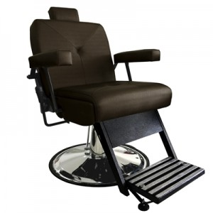 Cadeira de Babeiro Reclinável Milão Marri-Café