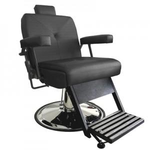 Cadeira de Babeiro Reclinável Milão Marri-Preto