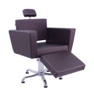 Cadeira de Cabeleireiro Niágara com Descanso para Pernas Kixiki
