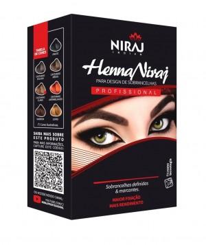 Henna Niraj para Design de Sobrancelha 3,5g