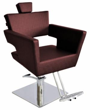 Cadeira Cabeleireiro Fixa Base Quadrada Van Gogh Terra Santa-Bordo
