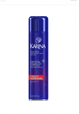 Hair Spray Fixação Normal Karina-400ml
