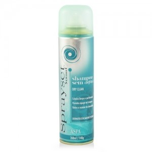 SpraySet Dry Clean – Shampoo sem Água Aspa-260ml