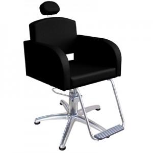 Cadeira Hidráulica Fixa Sofia Marri-Preto