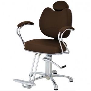 Cadeira Hidráulica Fixa Splendore Terra Santa-Café