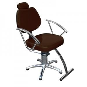 Cadeira Hidráulica Reclinável Tulipa Marri-Café