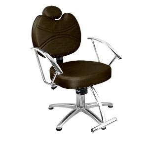 Cadeira Hidráulica Reclinável Vitória Marri-Café