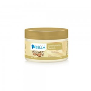 Cera Depilatória Facial Perolada com óleo de Amêndoas Depil Bella-250g
