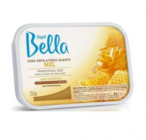 Cera Depilatória Quente Mel com Cera de Abelha Depil Bella-500g