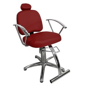 Cadeira de Cabeleireiro Iris Fixa Marri
