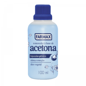 Removedor à Base de Acetona Farmax-100ml